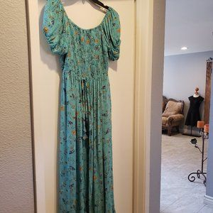 NOSTALGIA Gorgeous Maxi/Short Floral Dress. SZ M